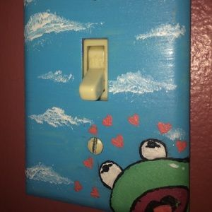 Other - Custom Painted Lightswitch Covers